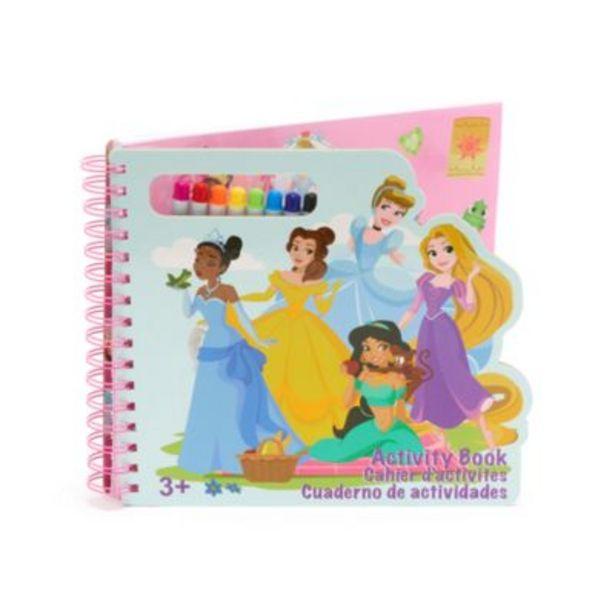 Oferta de Cuaderno actividades princesas Disney, Disney Store por 10€