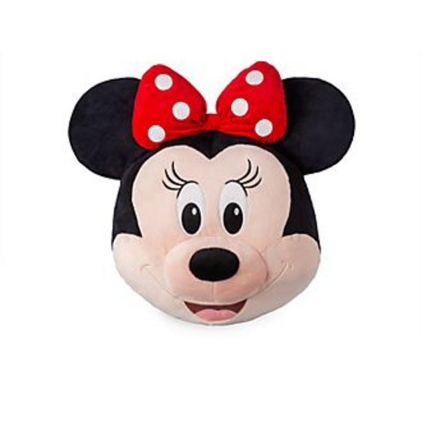Oferta de Cojín grande con cara de Minnie, Disney Store por 18,2€