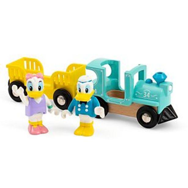 Oferta de Set tren juguete Donald y Daisy, Brio por 26,99€