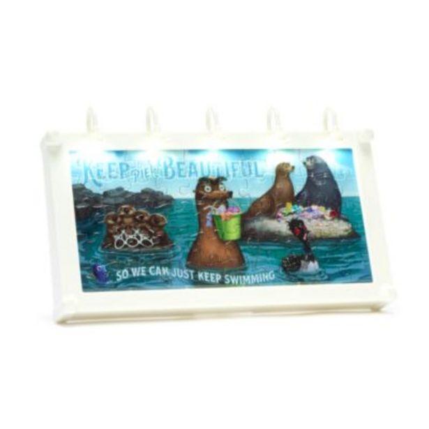 Oferta de Disney Parks minipuzle valla publicitaria con luz Buscando a Dory por 6€