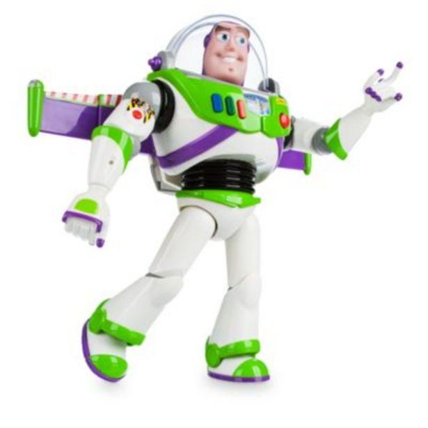 Oferta de Figura de acción con voz Buzz Lightyear, Disney Store por 29,6€