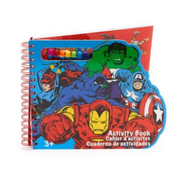 Oferta de Cuaderno actividades Marvel, Disney Store por 10€