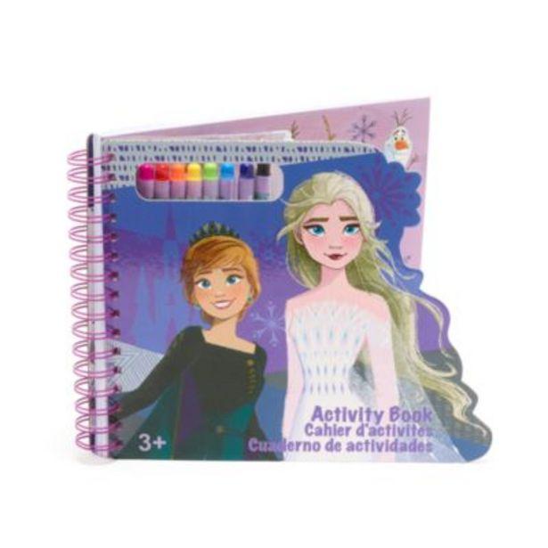 Oferta de Cuaderno actividades Frozen 2, Disney Store por 10€