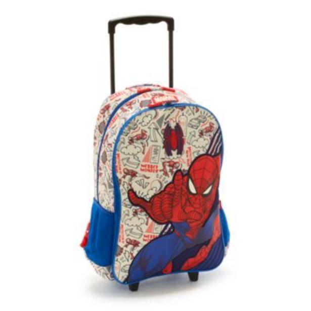 Oferta de Mochila con ruedas Spider-Man, Disney Store por 32€
