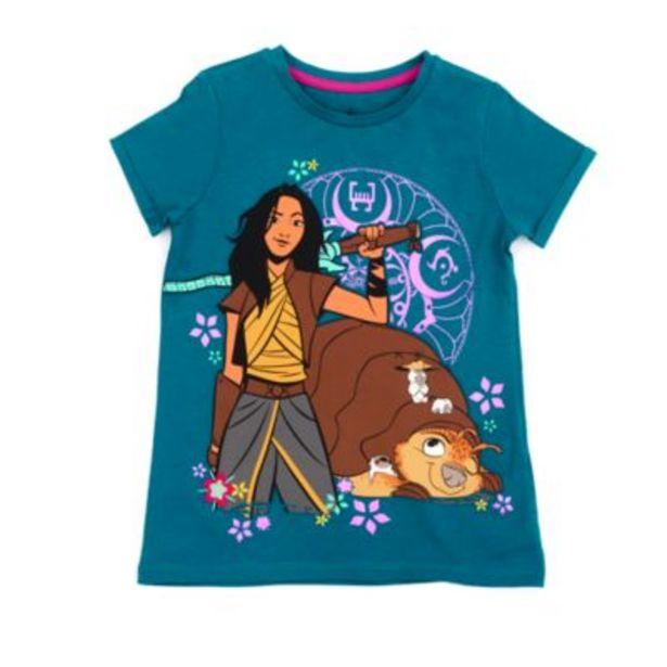 Oferta de Camiseta infantil Raya y el último dragón, Disney Store por 10,5€