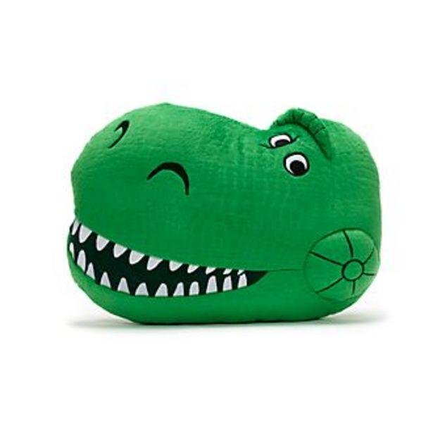 Oferta de Cojín grande con cara Rex, Toy Story, Disney Store por 18,2€