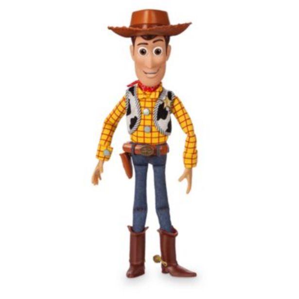 Oferta de Figura de acción con voz Woody, Disney Store por 29,6€
