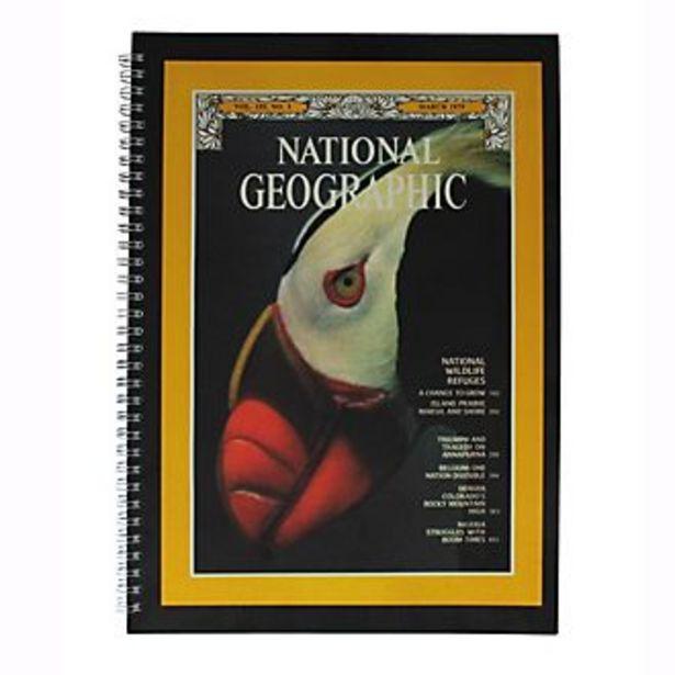 Oferta de Cuaderno A4 National Geographic, Disney Store por 9,8€