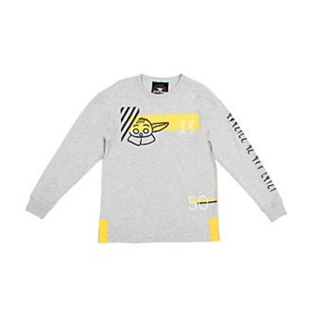 Oferta de Camiseta manga larga para adultos Grogu, Star Wars, Disney Store por 18€