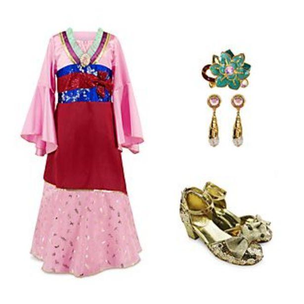 Oferta de Conjunto disfraz infantil Mulán, Disney Store por 50€