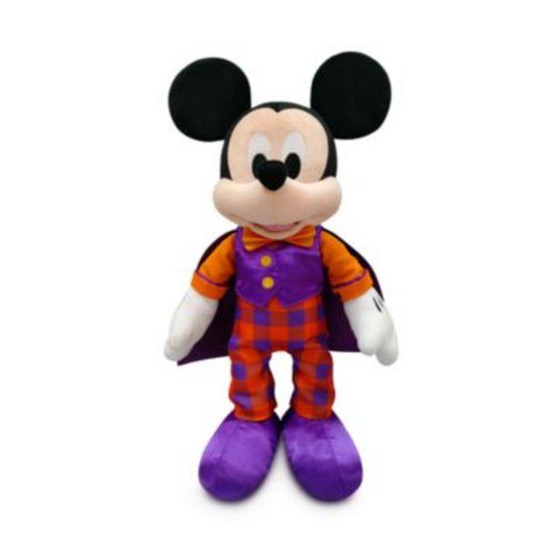 Oferta de Peluche pequeño Mickey Mouse Halloween, Disney Store por 10,9€