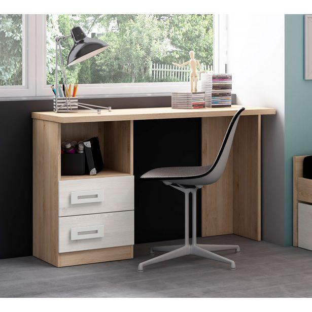 Oferta de Mesa de estudio colores pino/blanco en Ahorro Total por 119€