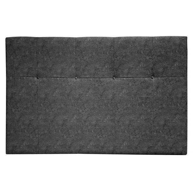 Oferta de Cabecero cama Costa gris 135-150 cm. en Ahorro Total por 109€