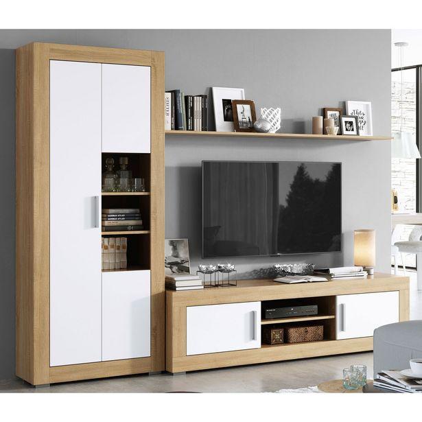Oferta de Mueble de salón Dakota 260 cm. en Ahorro Total por 199€