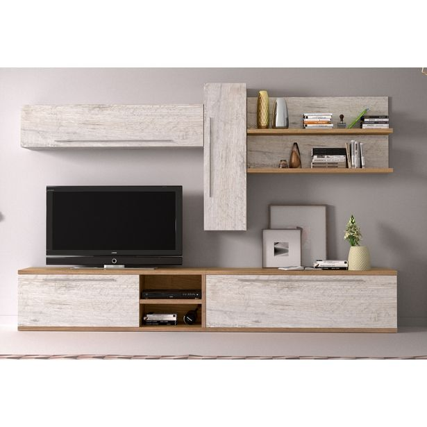 Oferta de Mueble de salón 09B - 280 cm. en Ahorro Total por 599€