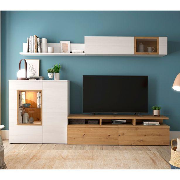 Oferta de Mueble de salón Mod. 679 - 285 cm. en Ahorro Total por 589€