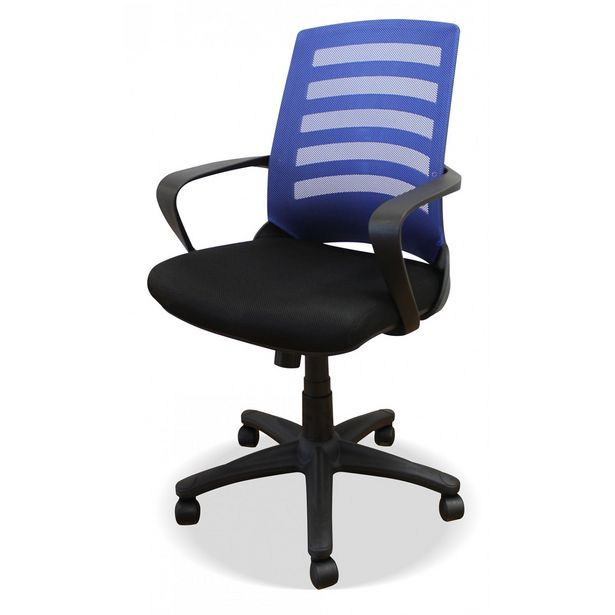 Oferta de Silla oficina Bianca azul en Ahorro Total por 99€