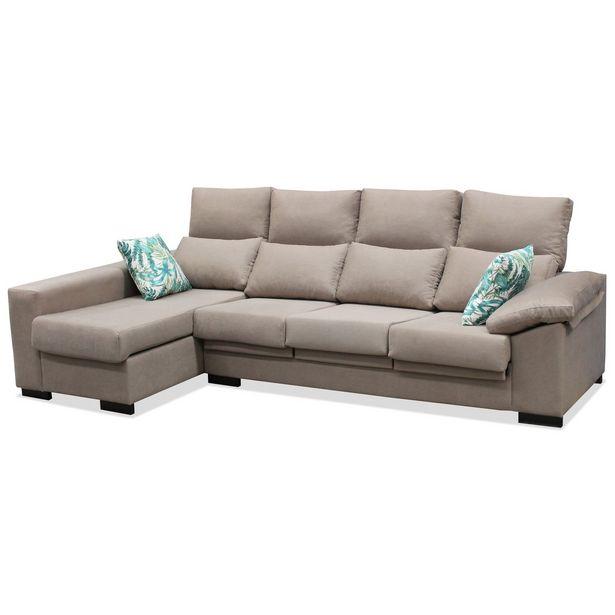 Oferta de Sofá chaise longue Manchester 280 cm. en Ahorro Total por 589€