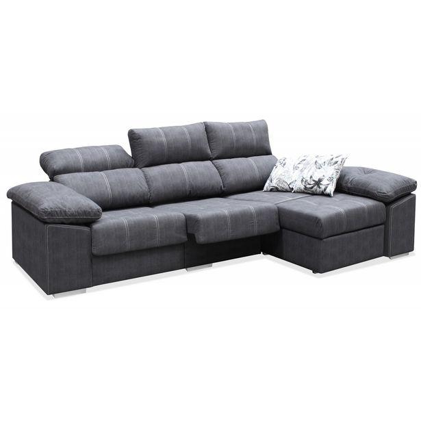 Oferta de Sofá chaise longue Láser 273 cm en Ahorro Total por 549€