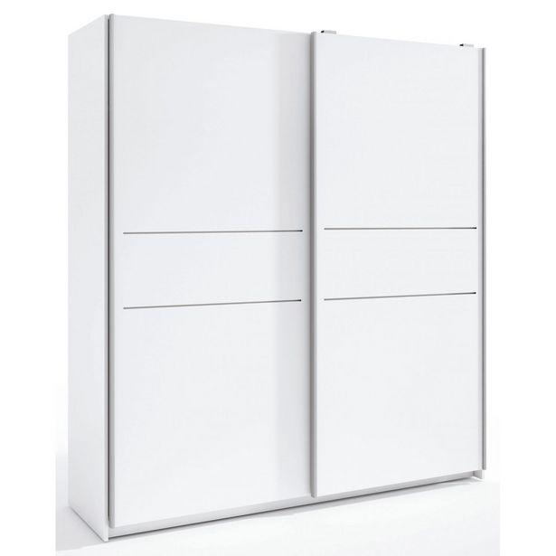 Oferta de Armario puertas correderas 182 cm. en Ahorro Total por 299€
