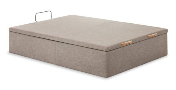 Oferta de Canapé abatible tapizado en tela Trendy por 381€
