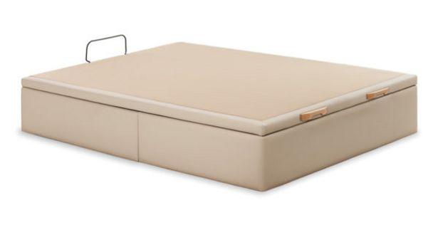Oferta de Canapé abatible tapizado en polipiel Trendy por 381€