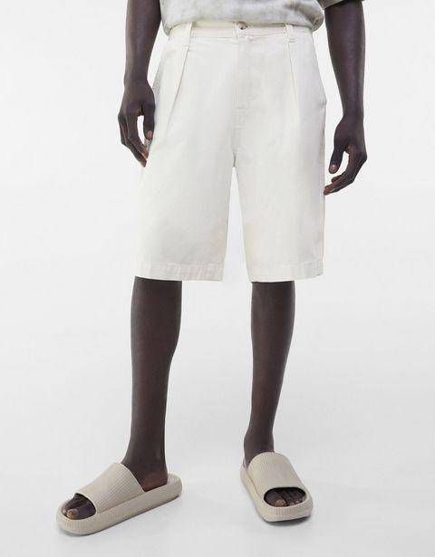 Oferta de Short denim wide leg por 7,99€