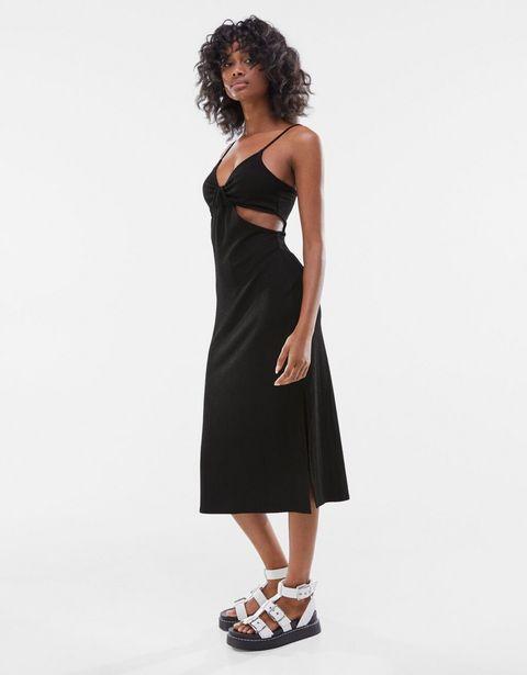 Oferta de Vestido midi aberturas laterales por 5,99€