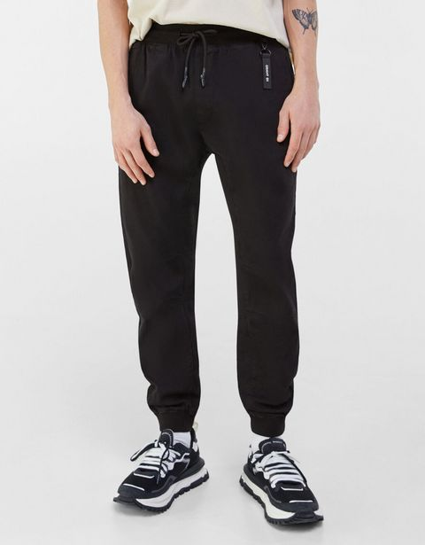 Oferta de Pantalón algodón jogger slim por 7,99€