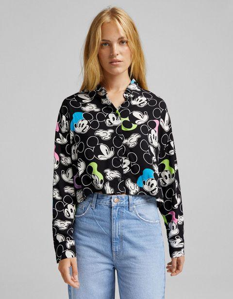 Oferta de Camisa manga larga print Mickey por 11,99€