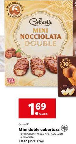 Oferta de Helados Gelatelli por 1,69€
