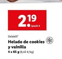 Oferta de Helados Gelatelli por 2,19€