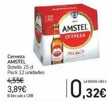 Oferta de Cerveza AMSTEL  por 3,89€