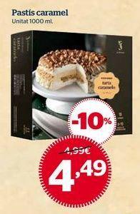 Oferta de Tartas por 4,49€