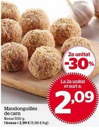 Oferta de Albóndigas por 2,09€