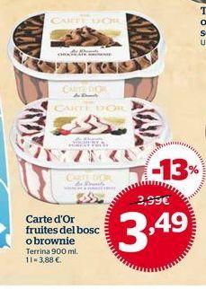 Oferta de Helados por 3,49€