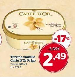 Oferta de Tarrina de helado por 2,49€