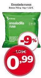 Oferta de Ensaladilla rusa congelada por 0,99€
