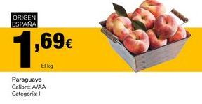 Oferta de Paraguayo  Calibre: A/AA Categoría:I por 1,69€
