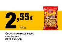Oferta de Cócktail de frutos secos sin cáscara Frit Ravich por 2,55€