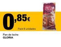 Oferta de Pan de leche Gloria por 0,85€