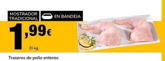 Oferta de Traseros de pollo enteros por 1,99€