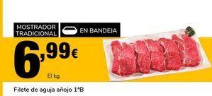 Oferta de Filetes de aguja añojo 1º B por 6,99€