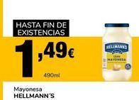 Oferta de Mayonesa Hellmann's por 1,49€