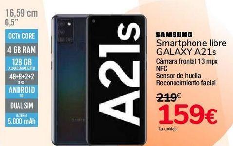 Oferta de SAMSUNG Smartphone libre GALAXY A21s por 159€