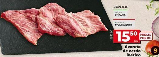 Oferta de Secreto de cerdo por 15,5€