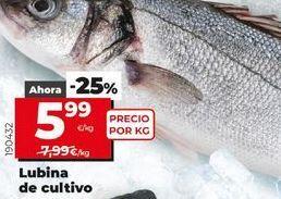 Oferta de Lubina por 5,99€