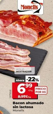 Oferta de Bacon Monells por 6,99€