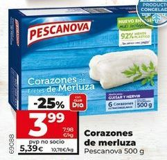 Oferta de Merluza Pescanova por 3,99€