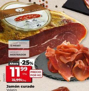 Oferta de Jamón curado por 11,99€